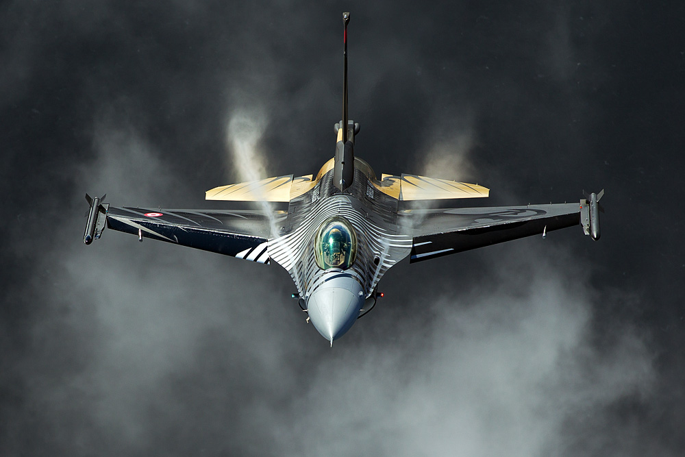 Out of the Dark - F-16C - Turkish Air Force Solo Display Team
