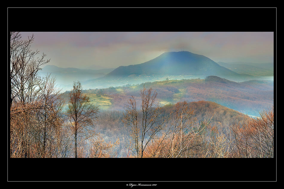Ovcar Mountain Serbia