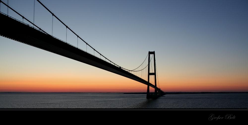 over the bridge...