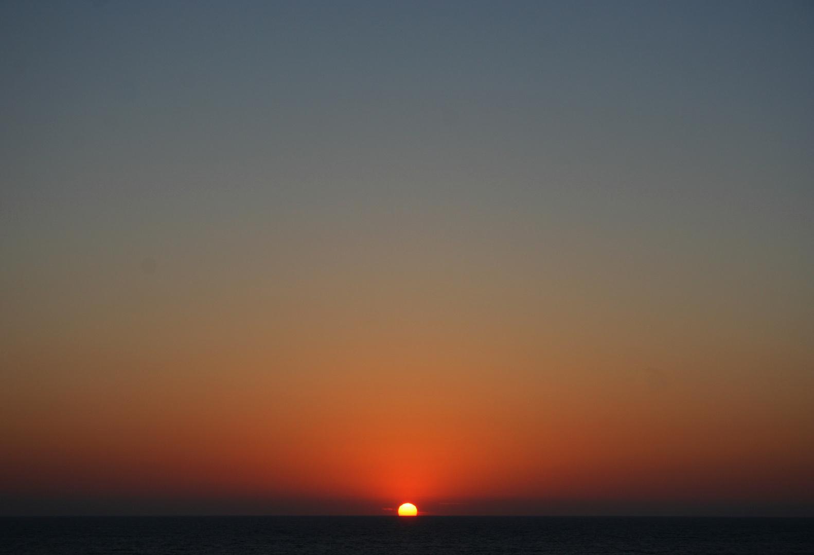 Over the horizon...