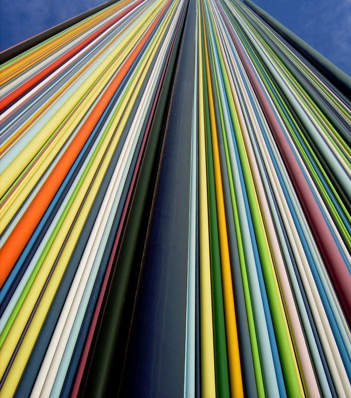 Over the Rainbow - Plastik in La Défense
