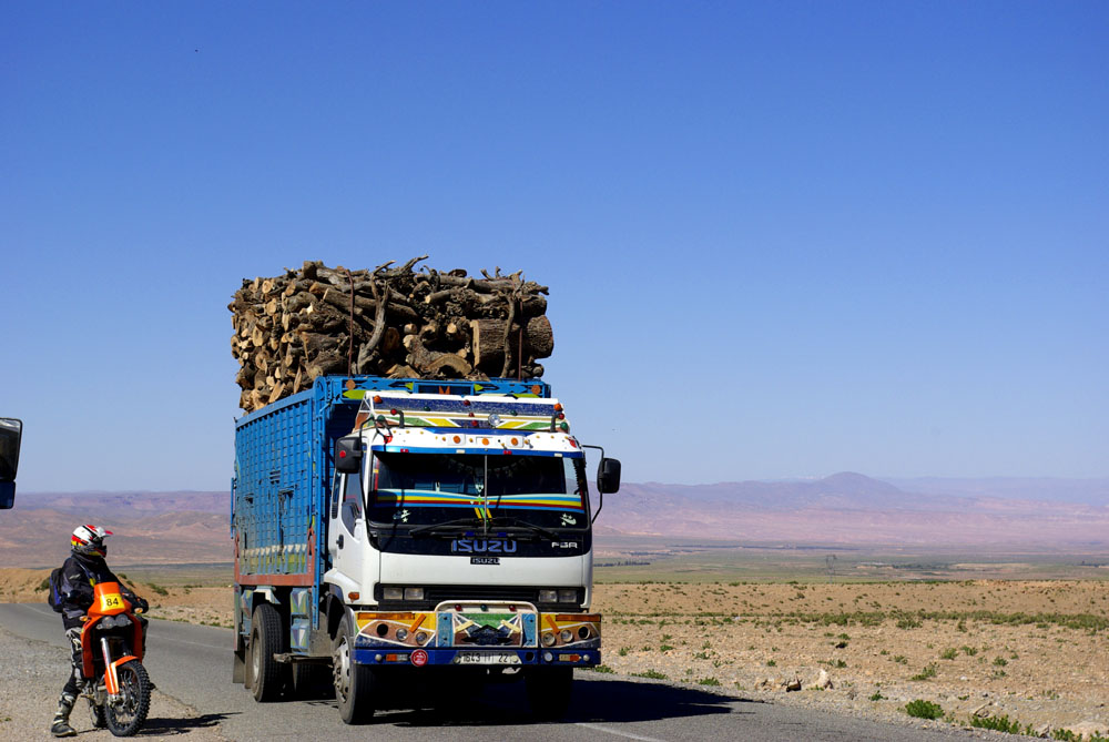 Overloaded-Truck