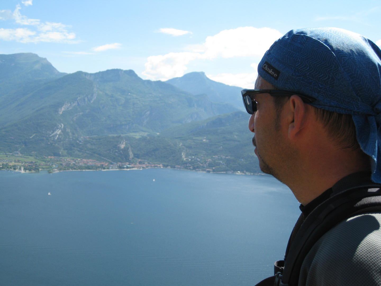 Overlooking the Lago