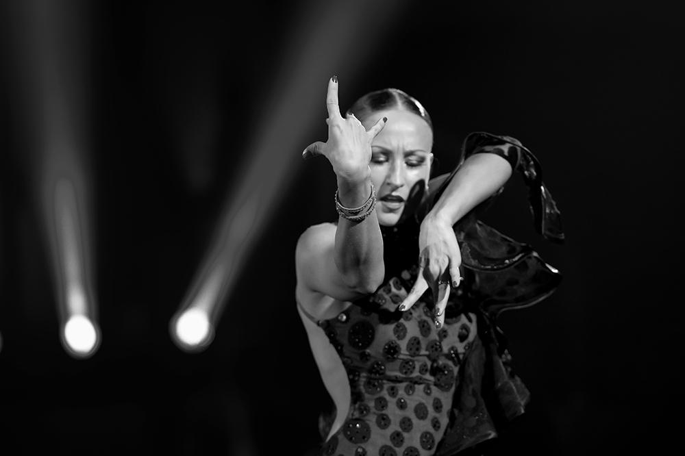 Oxana Lebedev bei der Rumba