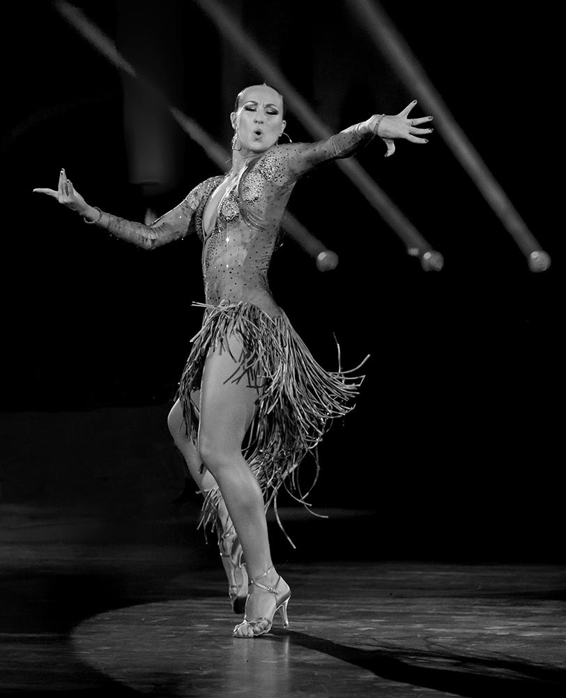 Oxana Lebedev bei der Samba