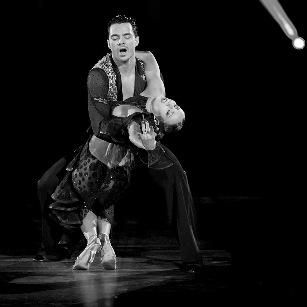 """Oxana Lebedev und Ilia Russo """"Die Rumba in Schwarz-Weiss"""" (1)"""
