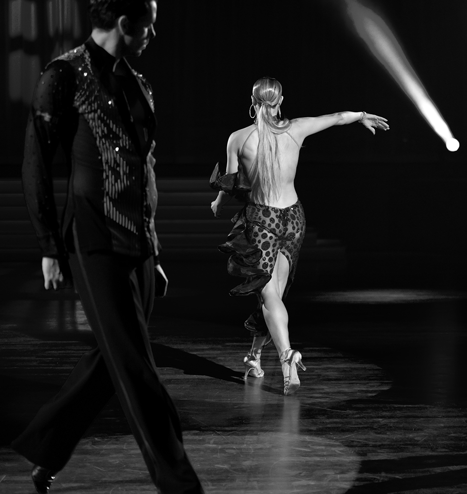 """Oxana Lebedev und Ilia Russo """"Die Rumba in Schwarz-Weiss"""" (4)"""