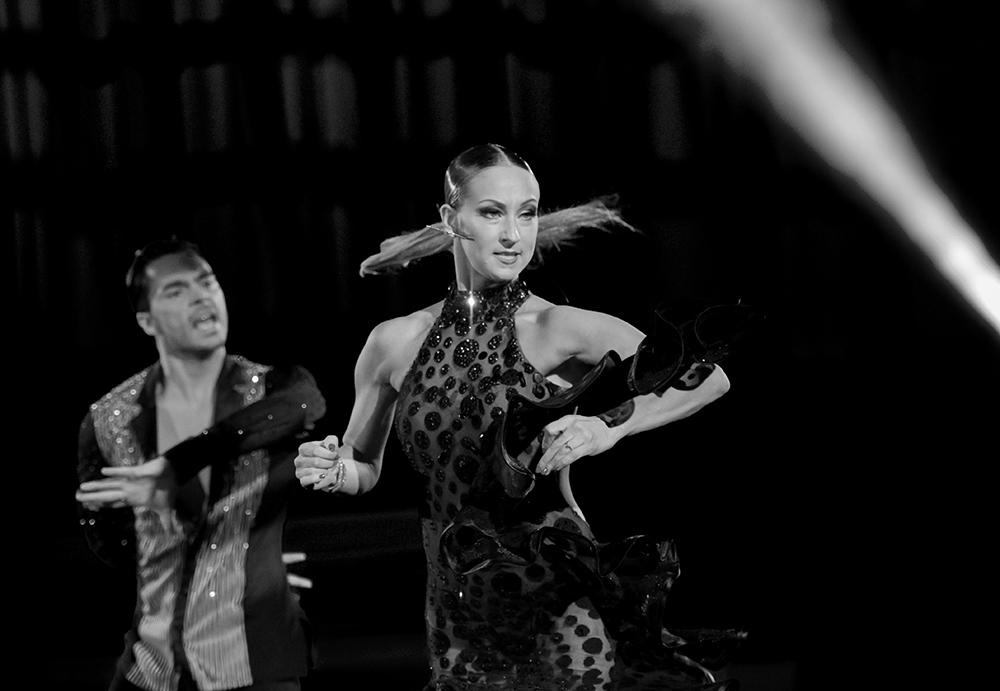 """Oxana Lebedev und Ilia Russo """"Die Rumba in Schwarz-Weiss"""" (6)"""