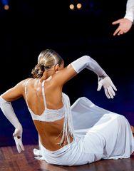 Oxana Lebedev und Ilja Russo bei der Rumba 3