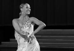 Oxana Lebedew bei der Samba