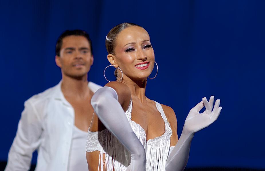 Oxana Lebedew und Ilja Russo bei der Rumba 2