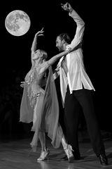 Oxana Lebedew&Pavel (Pascha) Zvychaynyy bei der Rumba (2)