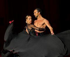 Oxana Lebedew&Pavel Zvychaynyy beim Paso Doble