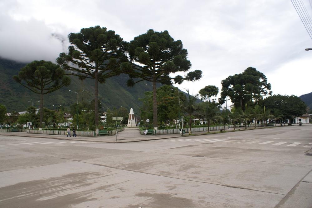 Oxapampa - plaza de armas
