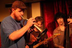 *P* Jazz Trompeter Dominik Kiste