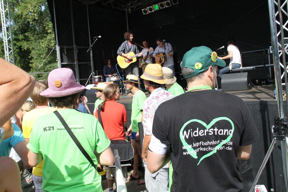 *P* Max Herre+Band spielt K21 Juli2010