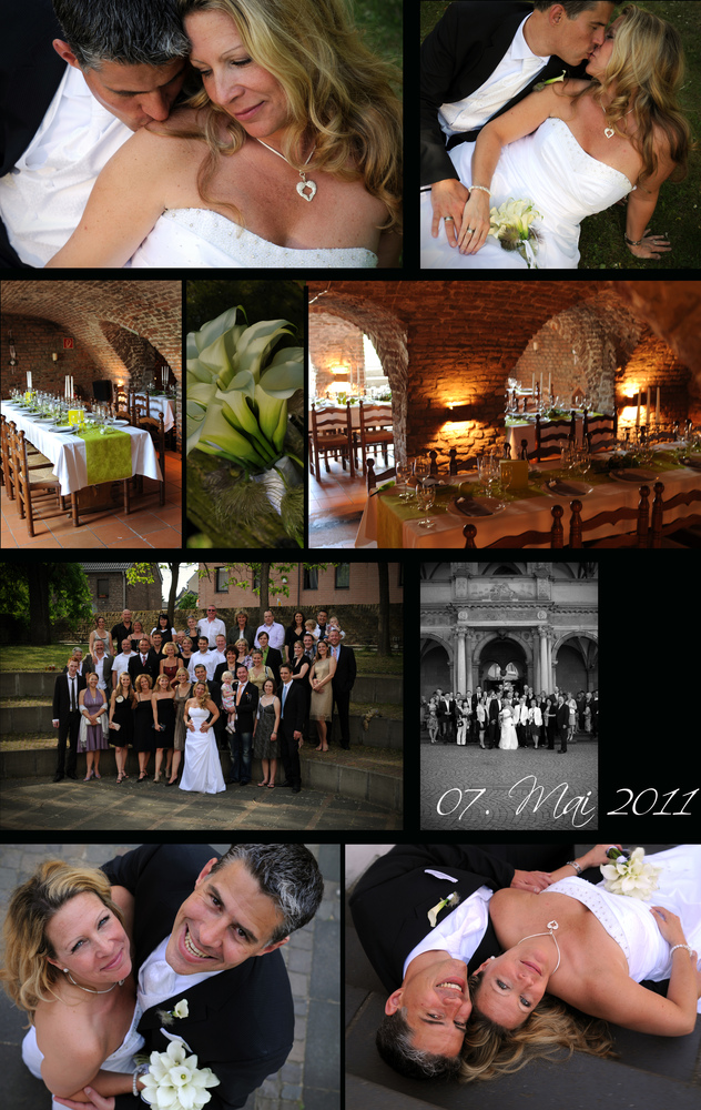 P R Collage Ii Foto Bild Hochzeit Collagen Wedding Bilder