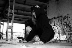 *P* - skate girl