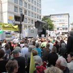 P+ Stuttgart K21 - Bürger auf dem Marktplatz-Bühne ... AKTUELL 29.7.11 12:15h