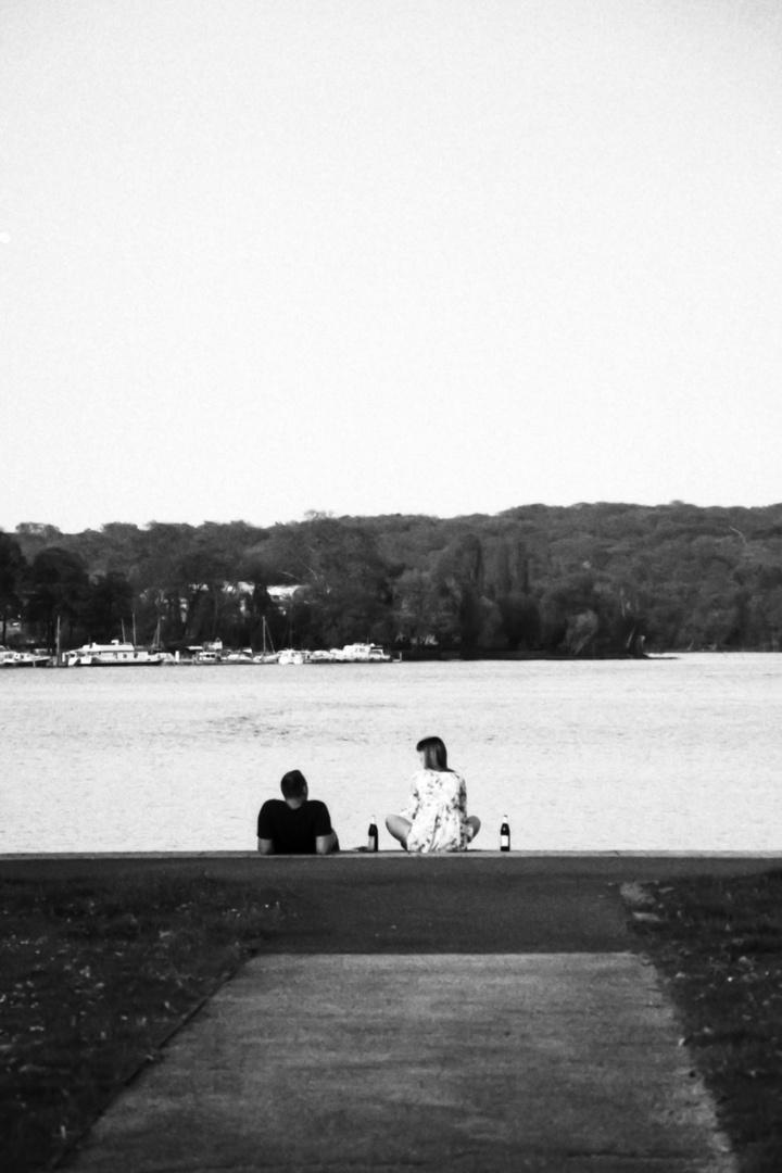 Paar am See