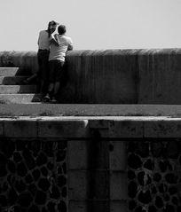 Paar am Stand - atypisch -