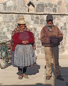 Paar aus Peru