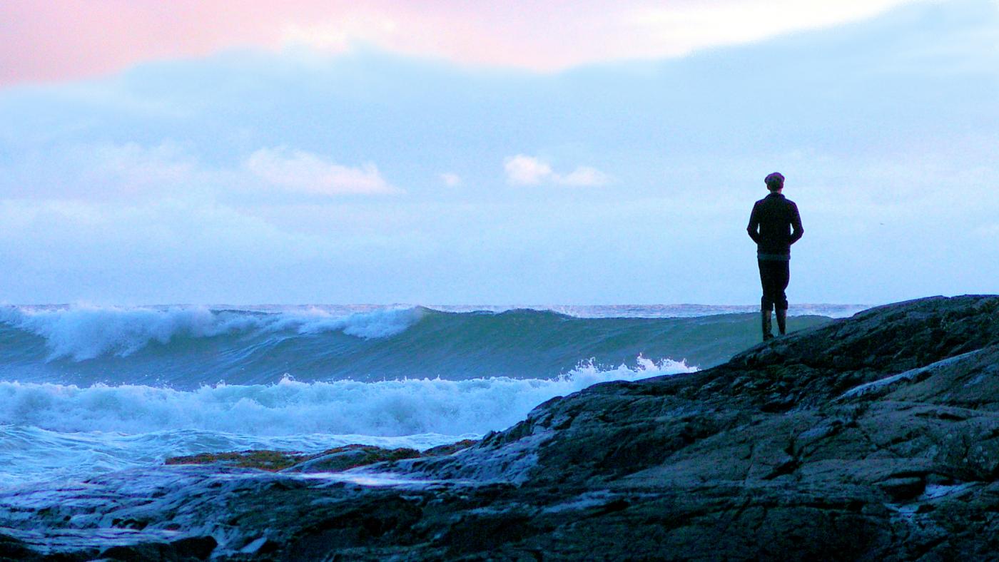 Pacific Evening Solitude-Tofino