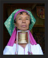 Padaung-Frau