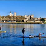 Paddle sur Rhône...
