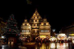 Paderborner Rathaus zur Adventszeit