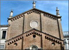 Padova..Particolare della Chiesa di Santo Antonio.
