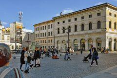 Padua - Live Musik auf dem Marktplatz