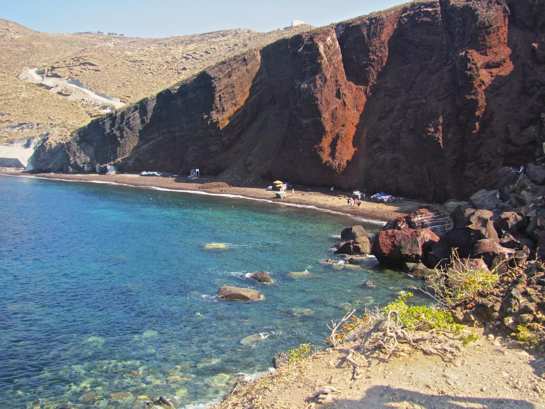 Paesaggio a Santorini