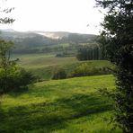 paesaggio dal castello di Romena