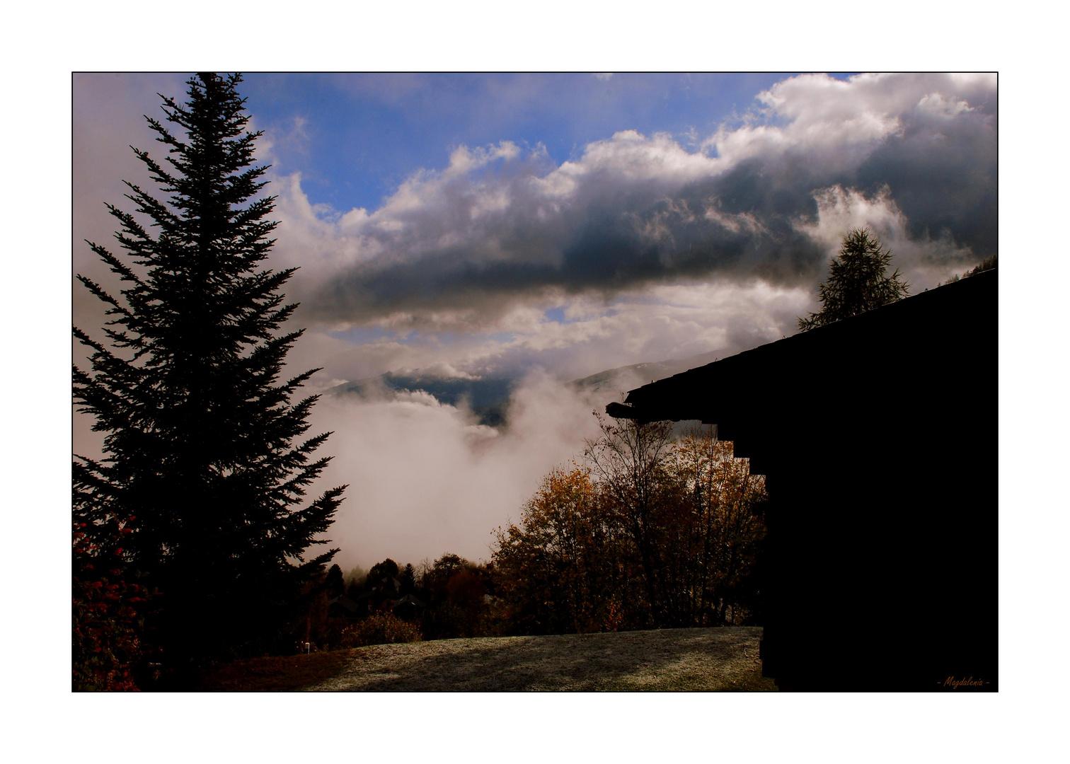 Pagaille dans les nuages