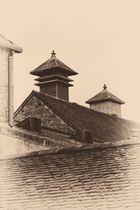 Pagoden der Dalmore Destillerie