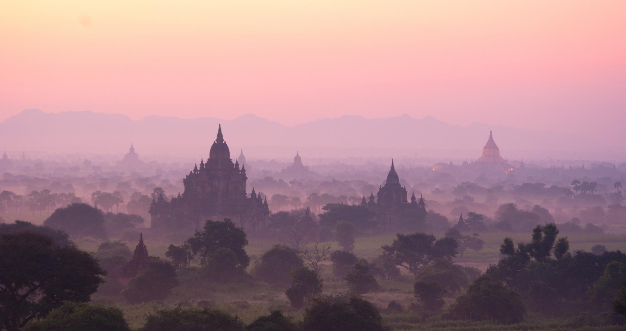 Pagodenfeld, Myanmar