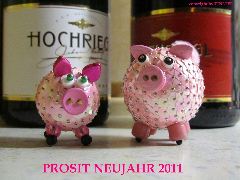 PAILLETTEN - Schweinchen 2011
