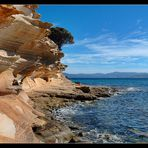 Painted Cliffs II - Maria Island