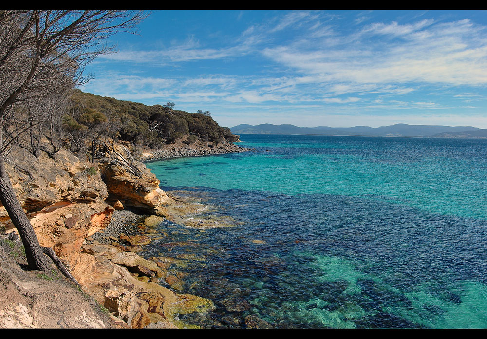 Painted Cliffs III - Maria Island