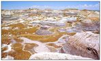 Painted Desert im Petrified Forest N.P. - Arizona, USA