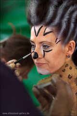 Painterin: Andrea Delles Model Birgitt