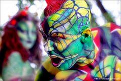Painterin: Gabi von der Linnepe Model Marc