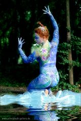 Painterin: Imke Hasieber Model Lina