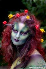 Painterin: Marcia Ijzerman Model Julia