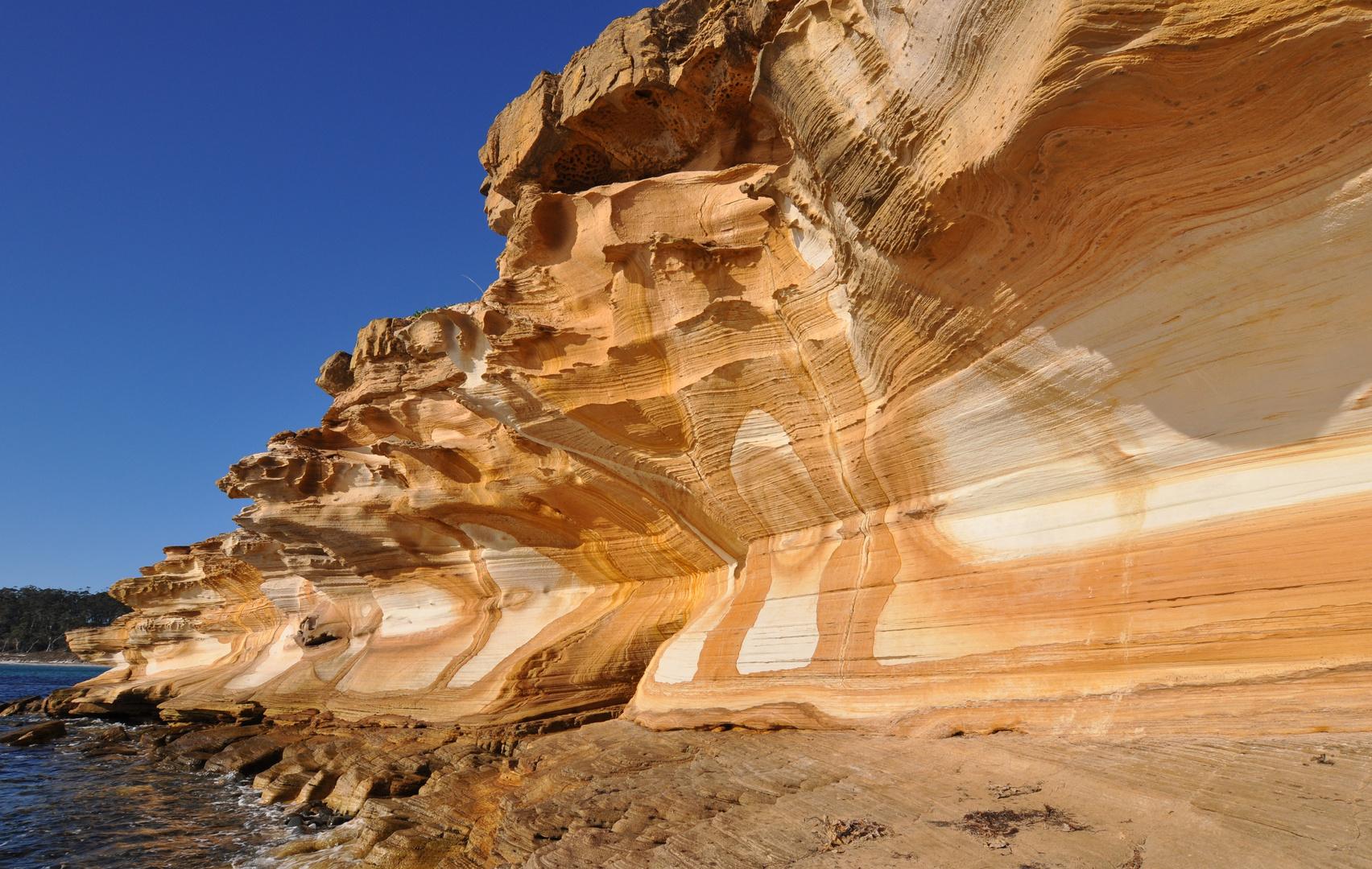 Paintet Cliffs (Tasmanien)