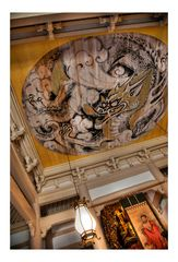 Painting on the ceiling