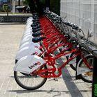 Paisaje de bicicletas urbanas en BCN