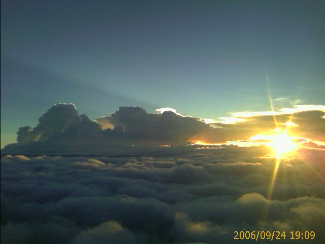 paisaje desde un avion