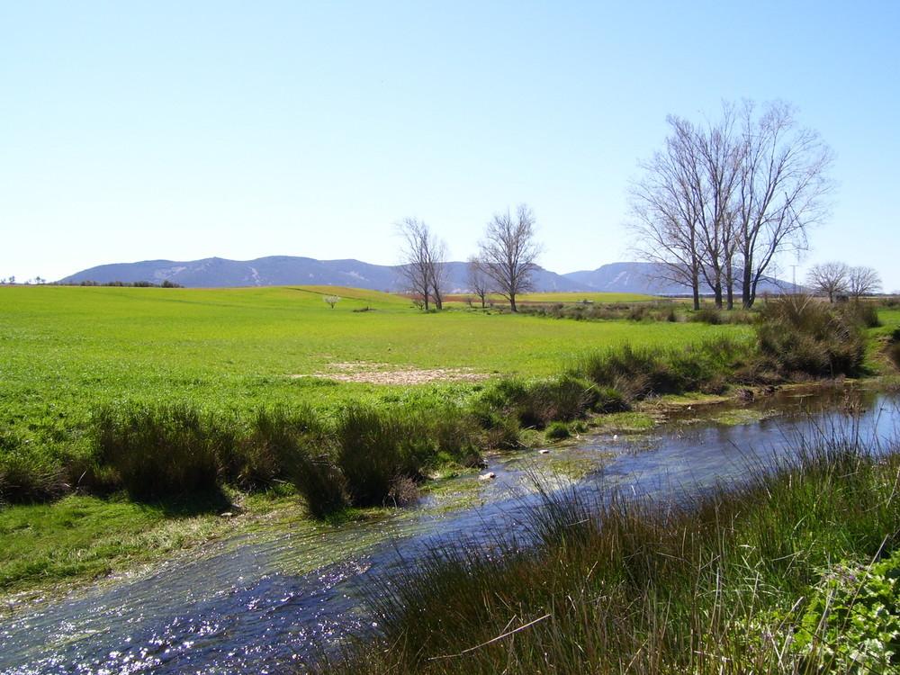 Paisaje en el río Algodor...FERNANDO LÓPEZ   fOTOGRAFÍAS...